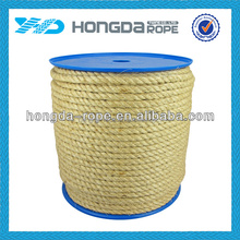 Professionally produce colored sisal rope 50mm
