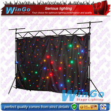 LED Star Cloth wedding backdrop curtain