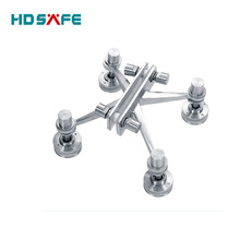 4-way arm heavy duty Building Glass Spider For curtain wall spider system