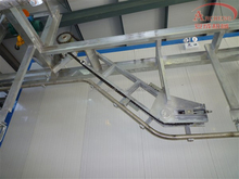 Acclivitous Pig Hoist Machine for meat processing slaughterhouse
