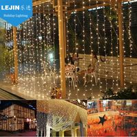 2016 new product christmas decorative led curtain snowfall light