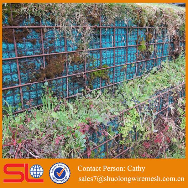 Certification iso meilleure serive mur cailloux grillage fil de fer barbel id de produit - Mur en cailloux ...