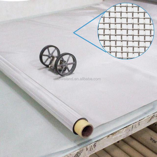 Hbweland Hot Stainless Steel 80 mesh 200 micron Steel Screen Mesh