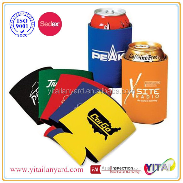 Bars or party neoprene can slap wrap can cooler promotional gifts