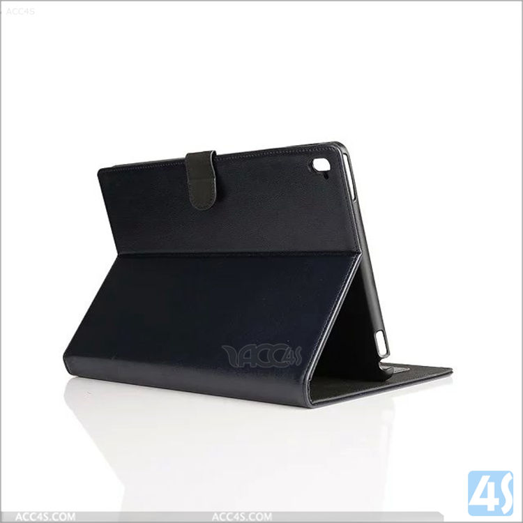 Book style flip real leather covers for ipad air 3 9.7, laptop real leather protective cover