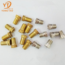 Factory supply attractive price yellow / white bicycle presta valve
