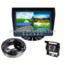 7inch high-powered IR LED car pillow tft lcd monitor