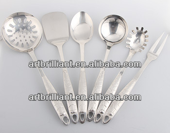 kitchen cooking sets/best selling High quality Stainless steel Cooking tools