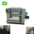 Edge embossing and full embossing facial tissue making machine