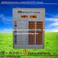 buy foreign currency online /BT12-72L92H-R Indoor used LED Exchange Rate Board (Red)
