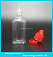 30ml long thin tip plastic dropper bottle for e liquid/ tobacco tar