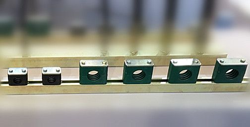 high quality rail version clamp hinge
