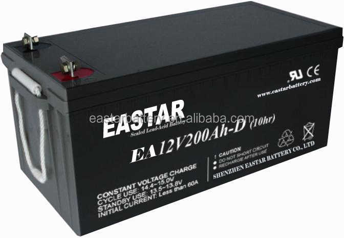 sealed deep cycle solar battery 12v 240 ah