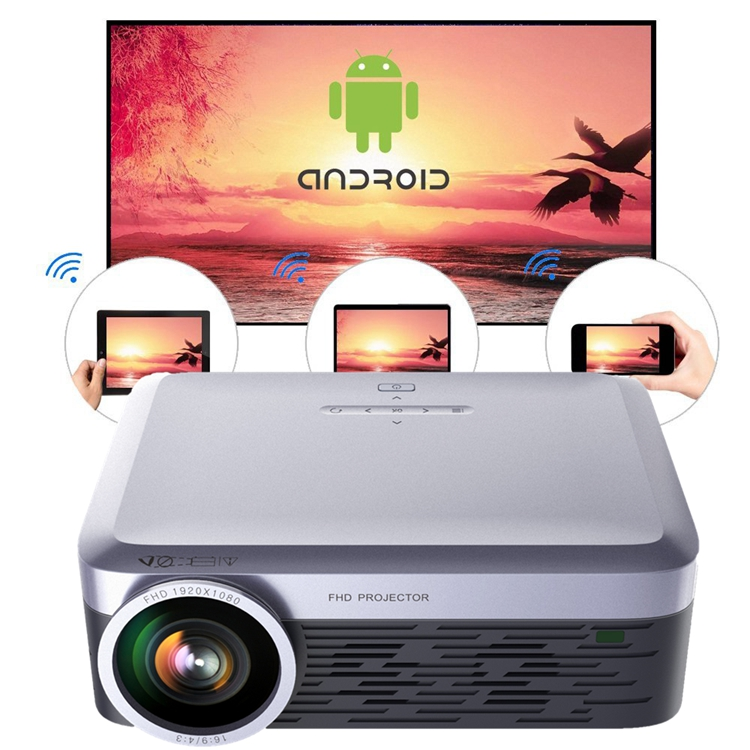 3000Lumens LED Full HD WiFi Android 4K <strong>Projector</strong> Wireless Video <strong>Projector</strong>