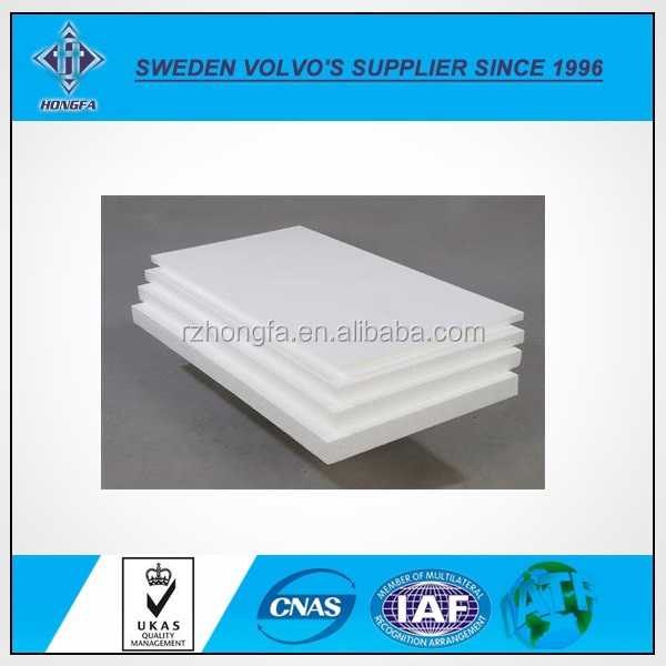 High Density Extruded Compressed Expanded Polystyrene Sheets