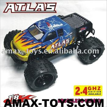 08062 1:8 Brushless Electric Off Road Truck - Atlas,2.4G available model truck toys electric motor car 1 8 rc car