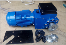Environmental protection rack and pinion electric motors