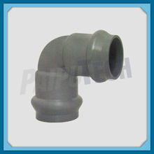 Plastic Pipe Fitting PVC Double Bellmouth 90 Degree Bend