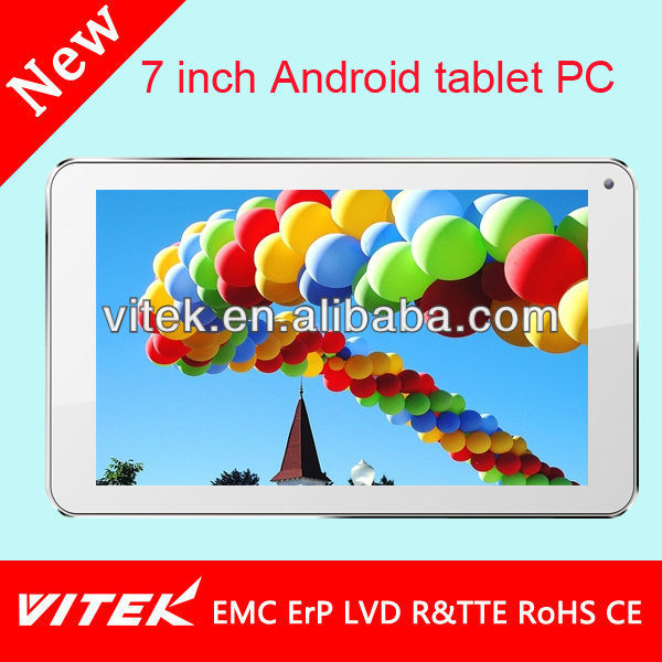 Popular & hot Android wifi tablet pc hi pad