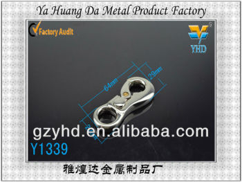 vintage metal swivel eye snap hook for handbag in guangzhou