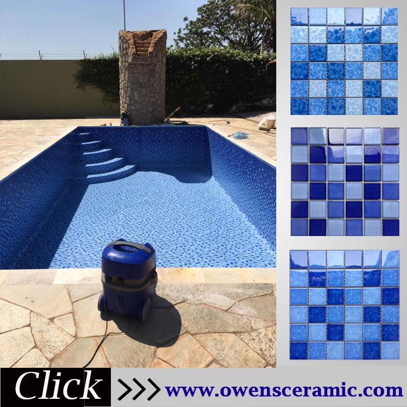 Blue Porcelain Swimming Pool Tiles Mosaic 2018 - Buy Blue Tiles Porcelain  2018,Swimming Pool Tiles Mosaic,Blue Mosaic Pool Tiles Product on ...