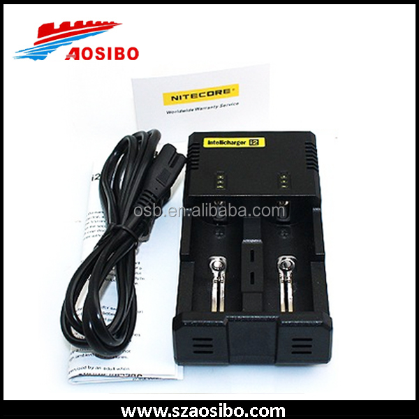 2016 new package Original nitecore I2 18650 battery charger best quality fastest speed 18350 battery charger