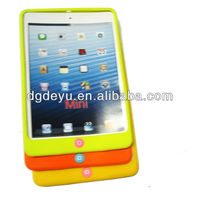 Smart cheap silicone case for ipad mini