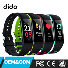 IP67 Color Screen Smart Bracelet Heart Rate Monitor Smart Wristband Blood Pressure Blood Oxygen Monitor Smart Bracelet