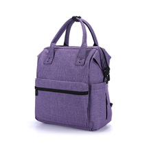 Baby diaper bag backpack with insulated pockets and changing pad mummy zipper baby backpack bag