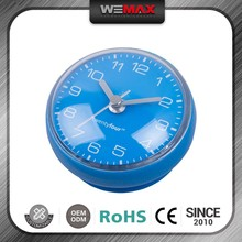 Various Colors Water-Resisting Time Flying Clock Magnet Ball Wall Clock For Bathroom