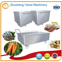 Tote bin for meat