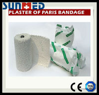 High quality low price medical orthopaedic Plaster of Paris bandage
