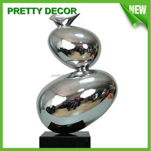 Stainless Steel Sculptures / Metal Statue for Indoor Decoration