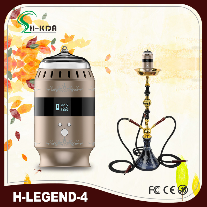 2016 Newest first electronic hookah bowl Portable mini shisha bowl H-legend4 from HKDA