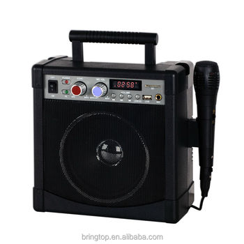 Karaoke Player with LED Music player and USB/SD Port