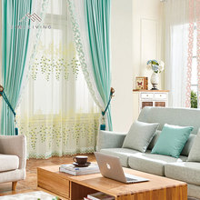 Factory supplier made in China elegant woven curtains for the living room