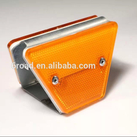 Guardrail double faced Road Reflective Delineator