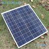 China solar home polycrystalline solar panel 36cells 75w 18v for sale