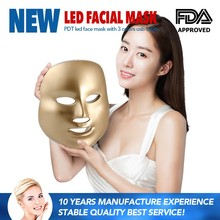 Portable Led Light Therapy Mask 3 Colors PDT Led Facial Mask