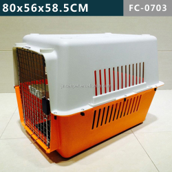 For Up to 30 KGS pets, FC-0703 MODELS, plastic pet cage/ kennel.
