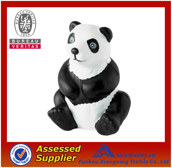 Best Quality Promotional Top Quality PU Panda Stress Toys Balls