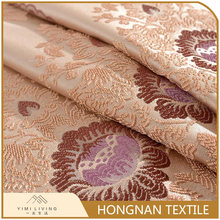 Good quality wholesale classical curtain polyester jacquard fabric