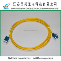 3.0mm LC duplex Patch cord Fiber Optic
