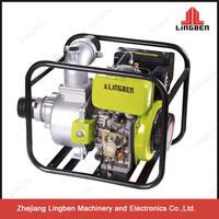 3 Inch High Pressure Diesel Water Pumps Agricultural Irrigation Diesel Water Pump LBD80