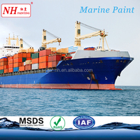 Acrylic finish coat marine paint for cargo ship