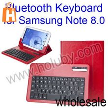 Wireless Bluetooth Keyboard+Folding Stand Leather Case Cover for Samsung Galaxy Note 8.0 N5100 N5110