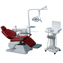 SOCO Top grade Dental Chair best quality dental unit With LED sensor lamp light cure and scaler