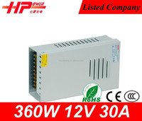 electrical switch power supply CE switch power supply 360w 12 volts AC DC Quad Output Power Supply