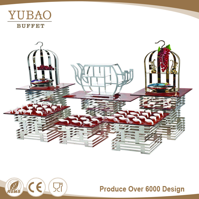 Excellent Quantity Glass Display,Party Display Stands,Display Wedding Cake Stand For Buffet