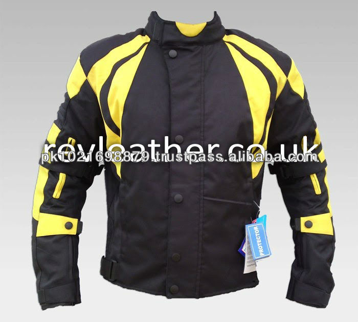 Men Waterproof Cordura motorbike jacket